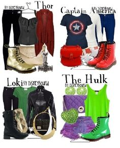 The Avengers - I would only wear the one for Loki.