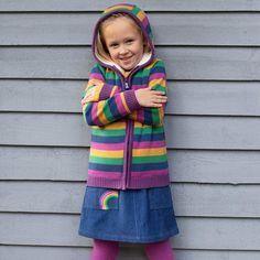 Multi Kite Girls Jurassic Jacket Rainbow 9 Months-11 Years