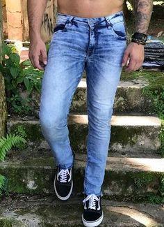 14437aef9 Imperium Store. Calça Jeans Skinny Barra Desf 8956 - Austin Club