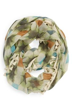 The Accessory Collective Tasseled Infinity Scarf (Girls) available at #Nordstrom