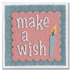 1003-Make A Wish card