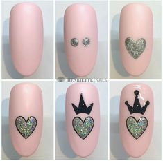 Acrylic False Almond Nails Designs Art In Summer With Fresh And Vibrant - Keep creating beauty and warm home, Find more happiness in daily life Nail Art Designs Videos, Cute Nail Art Designs, Nail Art Videos, Crown Nail Art, Crown Nails, Shellac Nail Art, Best Acrylic Nails, Art Nails, Nail Art Hacks