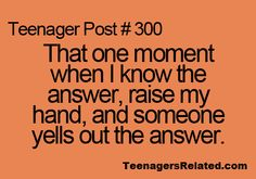 Teenagers Related Posts.....aaaaaah the most irratating thing ever!!