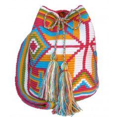 AS RECEITAS DE CROCHÊ: Bolsas Wayuu em crochê
