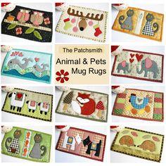 Ten fun animal mug rug patterns in one handy paperback book (via Amazon).