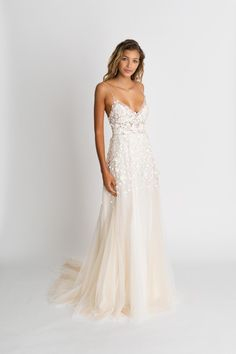 Wonderful Perfect Wedding Dress For The Bride Ideas. Ineffable Perfect Wedding Dress For The Bride Ideas. Dream Wedding Dresses, Bridal Dresses, Wedding Gowns, Wedding Dress Beach, Strappy Wedding Dress, Delicate Wedding Dress, Blush Dresses, Detailed Wedding Dresses, Short Girl Wedding Dress