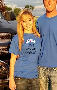 Nursing Live Laugh Heal LpN CnA Pn RN nurse T Shirt s m xL Unisex Tshirt More CoLoRS Available Nurses Nursing Nurse Aids Hat on Etsy, $26.00