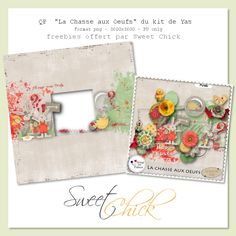 Sweet-Chick Scrap and Co: La Chasse aux Oeufs by Yas