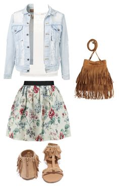 """""""Summer is comiinnnng... What do you girls think Of that look? Come on AskAnna to tell me what you think ;)."""" by askmarion ❤ liked on Polyvore featuring Raoul, Finders Keepers, Qupid and H&M"""