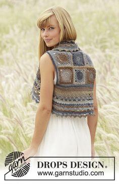 Download Sweet Gretel Bolero Crochet Pattern (FREE)