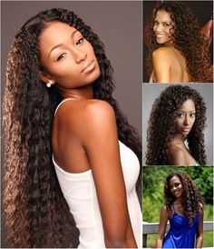 cute and fashion curly brown hair for black women with best long curly brown extensions clip in