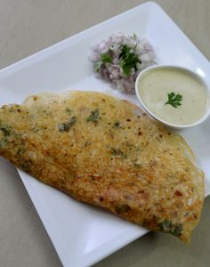 Rava dosa is a dosa made apart from regular dosas like onion dosa, masala dosa etc…