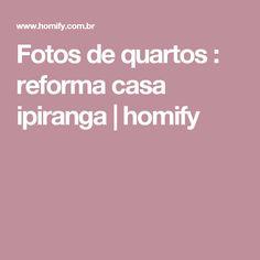 Fotos de quartos : reforma casa ipiranga | homify