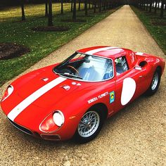 1964 Ferrari 250 LM | Scaglietti | 250 Le Mans | Tipo P | Ferrari P Series | Sports Prototype Racing Cars | Chassis No. 5899 GT Engine No. 5899 | 3.3L Tipo 211 V12 320 bhp | Top Speed 295 kph 183 mph...