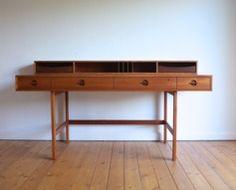 1960's Løvig Teak Desk #nordicdesign #design #desk #table