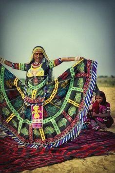 Gypsy Dancer in Bhawed, India