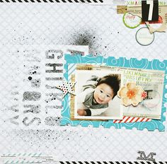 By Kaori - Spring-a-Licious pp & cards, papier festonné (scalloped papers) & diecuts