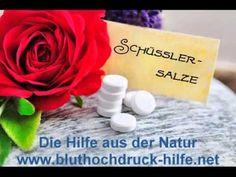 Schüssler Salze ++ Bluthochdruck ++ Hypertonie ++ Blutdruck senken++Den Bluthochdruck mit Schüssler Salzen natürlich senken