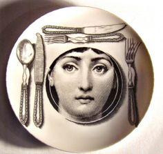 Fornasetti plate # 203