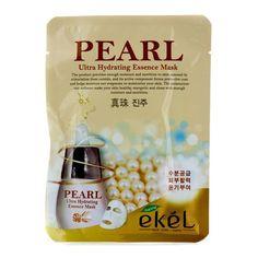 EKEL Natural Beauty Pearl Ultra-Hydrating Facial Mask Sheet Pack 1PCS K-Beauty #EKEL