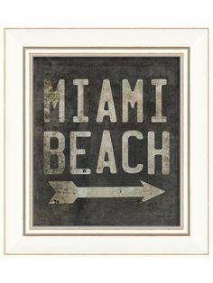 Miami Beach Sign #UGrooveMiami