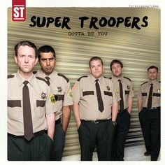 Cast Of 'Super Troopers' Re-Creates Iconic One Direction Moments Super Troopers, Ol Days, Zayn, One Direction, It Cast, In This Moment, Movies, Movie Posters, Films