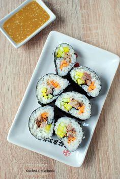 "Gimbap - koreańskie ""sushi"""