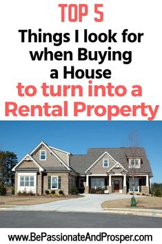 Buying Investment Property, Income Property, Property For Rent, Rental Property, Real Estate Coaching, Real Estate Investing, Renting Out Your House, Real Estate Rentals, Home Buying Process