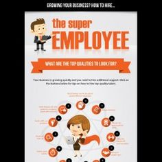 The Super Employee | Visual.ly