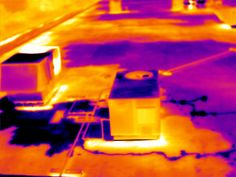 NDT - nondestructive infrared roof scan, when compared to other moisture survey methods, IR Thermography provides the best overview of substrate condition.