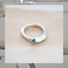 Seb Brown Jewellery Little Princess Ring, Sterling Silver & CZ $165