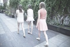 ccrystals: puberty (by Saga) Katherine Mansfield, Walking People, School Outfits, Light Colors, Saga, Your Style, Tulle, Ballet Skirt, Spring Summer