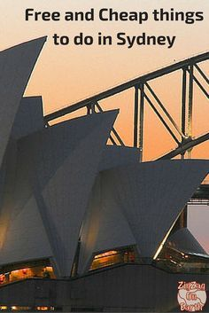 Free and Cheap things to do in Sydney Australia