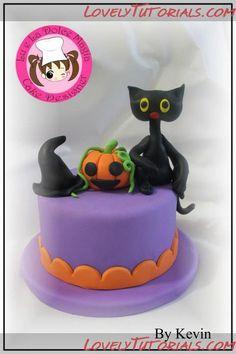 Название: Halloween cake toppers