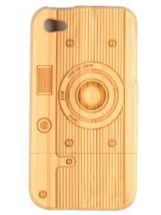 If I ever got an iPhone...wood grain iphone case