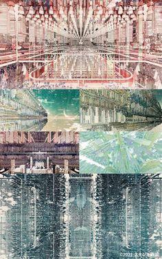 Environmental Art, Aesthetic Art, City Photo, Illustration, Thesis, Movie, Film, Cinema, Illustrations