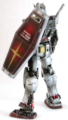 Gundam Kits Collection News and Reviews: MG 1/100 RX-78-2 Gundam Ver. 2.0 Painted Build
