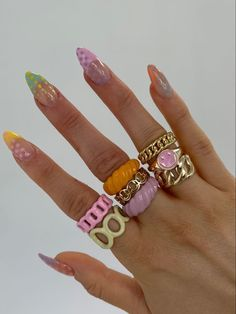 Funky Nails, Dope Nails, Swag Nails, Nail Jewelry, Cute Jewelry, Funky Jewelry, Cheap Jewelry, Body Jewelry, Jewelry Shop