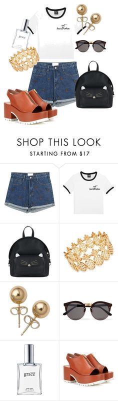 """Untitled #1624"" by cashtonlv on Polyvore featuring Sweetbox, Accessorize, INC International Concepts, Bling Jewelry, Illesteva, philosophy and Marni"