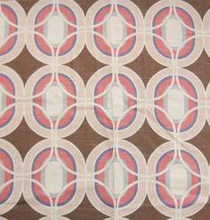 HGTV Home Fabric Sample Square  Quartz Spin-Off  Cotton