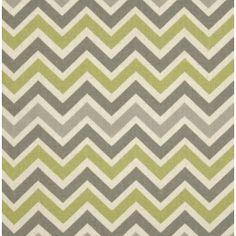Chevron Zig Zag in Reed & Naturals Home Decor Cotton Fabric PO431