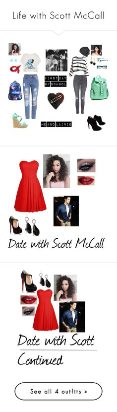 """Life with Scott McCall"" by bruhitsmya12 ❤ liked on Polyvore featuring Topshop, Giuseppe Zanotti, Urban Renewal, Vince Camuto, Monsoon, Corinne McCormack, Volcom, Alexis Bittar, Dasein and Zuhair Murad"
