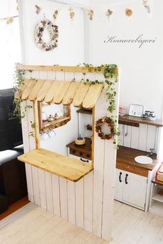 Garden cafe open in your garden? Image of Garden cafe open in your garden? Image of, Cubby Houses, Play Houses, Retro Furniture, Kids Furniture, Luxury Furniture, Kids Toy Kitchen, Wooden Kitchen, Toy Rooms, Kid Spaces