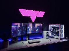 Its 5am. Best Gaming Setup, Computer Setup, Gaming Pcs, Pc Setup, Microsoft Surface, Consoles, Pictures, Ideas, Photos