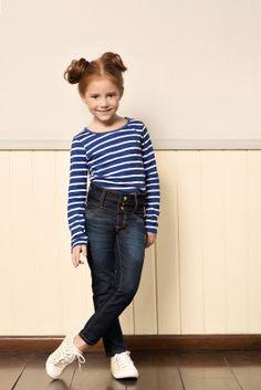 M2A Jeans   Fall Winter 2014   Kids Collection   Outono Inverno 2014   Coleção Infantil   peças   blusa listrada infantil; calça jeans infantil; jeans; denim.