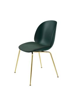 GUBI // Beetle Chair, seat upholstered, by GamFratesi