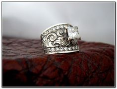 western rings | Western Wedding Rings By Travis Stringer