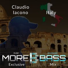 """Check out """"More Bass Exclusive Mix, Episode Nine. Claudio Iacono from Italy (Underground) morebass.com"""" by More Bass on Mixcloud"""