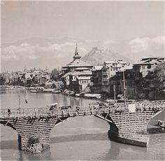 Third Bridge � Fateh Kadal, Srinagar July 1944