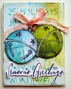 My Life in Collage: Christmas Blueprints 5/Handwritten Holidays 1